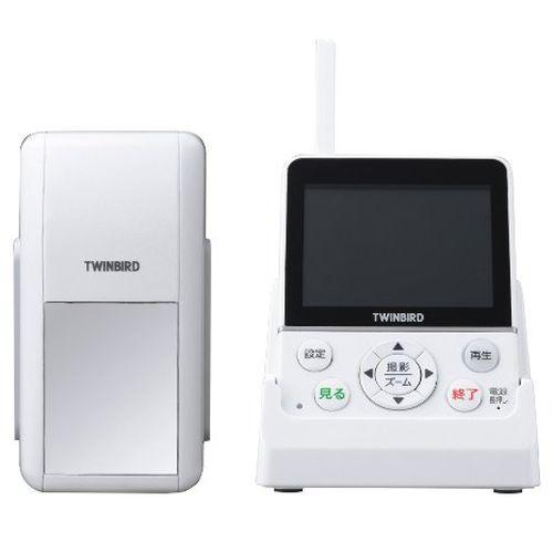 ツインバード ホームセキュリティーシリーズ ワイヤレス・テレビドアホン DoNaTa ホワイト VC-J560W