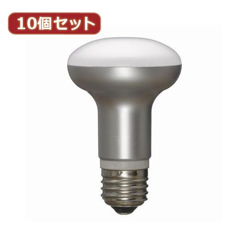 YAZAWA 【10個セット】 調光対応レフ形LED電球6.5W電球色 LDR7LHDX10【送料無料】