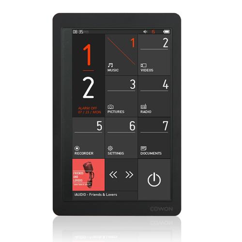 COWON MP3 プレーヤー ブラック 32GB X9-32G-BK【送料無料】