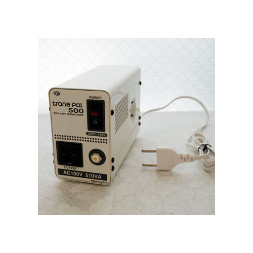 スワロー電機 受注生産のため納期約2週間ダウントランス 220・230V→100V / 500W PAL-500EP