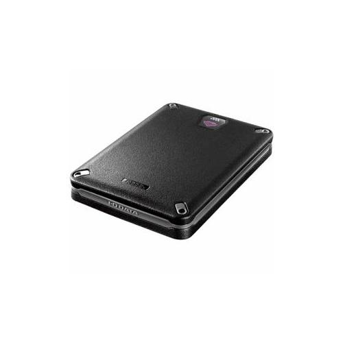 IOデータ HDPD-SUTB500 USB 3.0/2.0対応 ハードウェア暗号化&パスワードロック対応 耐衝撃ポータブルハードディスク 500GB【送料無料】