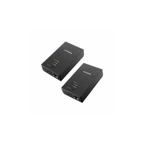 IOデータ PLC-HD240E-S コンセント直結型PLCアダプター マスターアダプター&ターミナルアダプターセット周辺機器 IOデータ【送料無料】