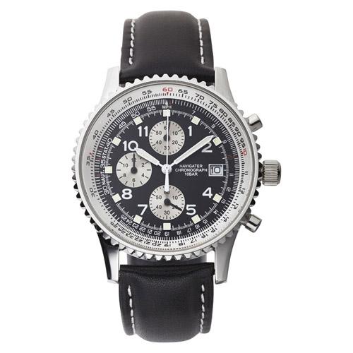 クロノグラフ紳士ウォッチ 雑貨 ホビー インテリア 雑貨 腕時計【送料無料】