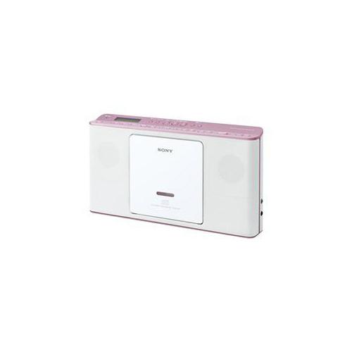 ソニー CDラジオ ピンク ZS-E80-PC()【送料無料】:リコメン堂生活館