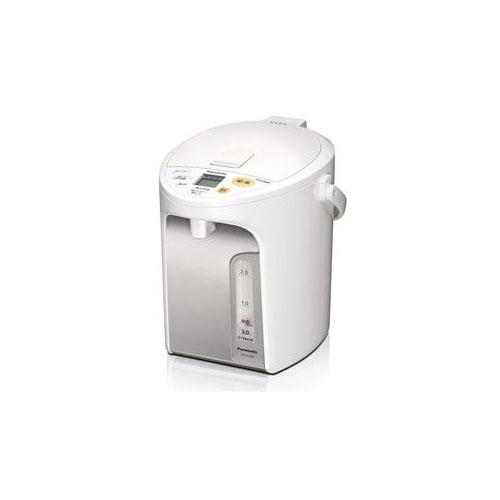 Panasonic 電動給湯式電気ポット (3.0L) ホワイト NC-HU304-W(代引不可)【送料無料】