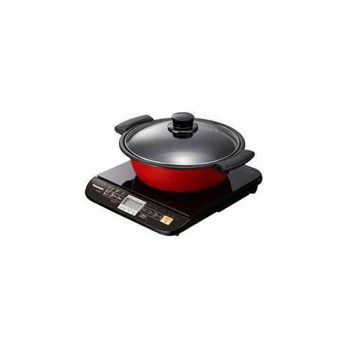 Panasonic 卓上型IH調理器 (1口・専用なべ付属) KZ-PG33-K(代引不可)【送料無料】