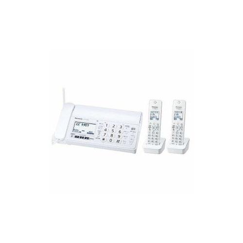 高級感 Panasonic デジタルコードレス普通紙FAX(子機2台付き) ホワイト ホワイト Panasonic KX-PZ200DW-W()【送料無料】, ギフトショップくんくん:4c1521f6 --- delipanzapatoca.com