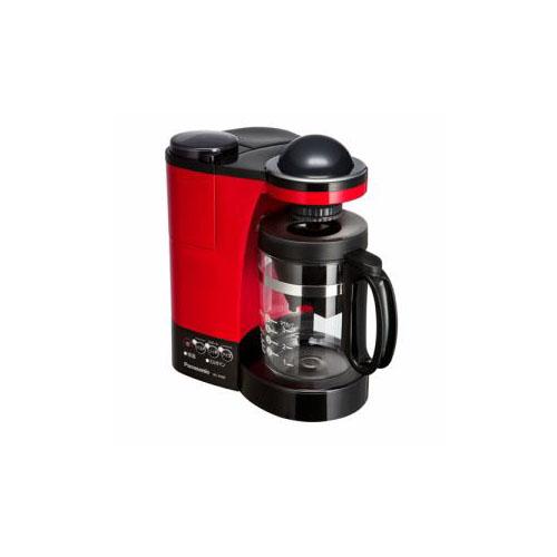Panasonic ミル付き浄水コーヒーメーカー レッド NC-R400-R(代引不可)【送料無料】