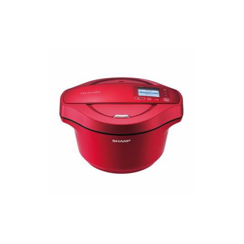 SHARP KN-HW24C-R 電気無水鍋 「ヘルシオホットクック」 2.4L レッド系(代引不可)【送料無料】