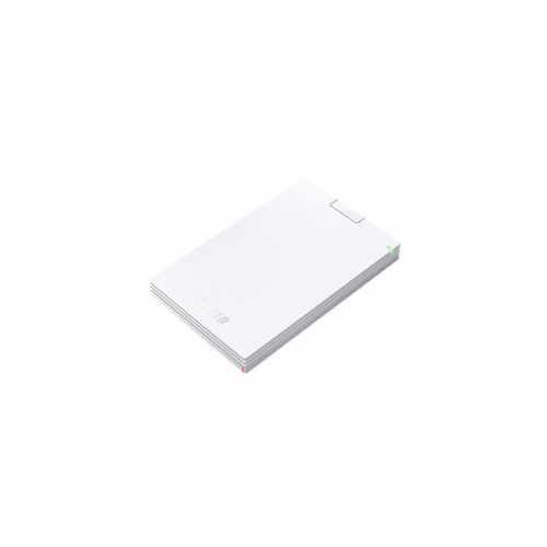 BUFFALO バッファロー ミニステーション USB3.1(Gen1) USB3.0 ポータブルHDD 1TB ホワイト HD-PCG1.0U3-BWA(代引不可)【送料無料】