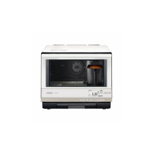 日立 スチームオーブンレンジ 「ヘルシーシェフ」 33L パールホワイト mRO-SBK1-W(代引不可)【送料無料】