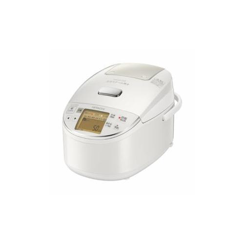 日立 圧力スチームIH炊飯器 5.5合炊き ふっくら御膳 パールホワイト RZ-BV100m-W(代引不可)【送料無料】