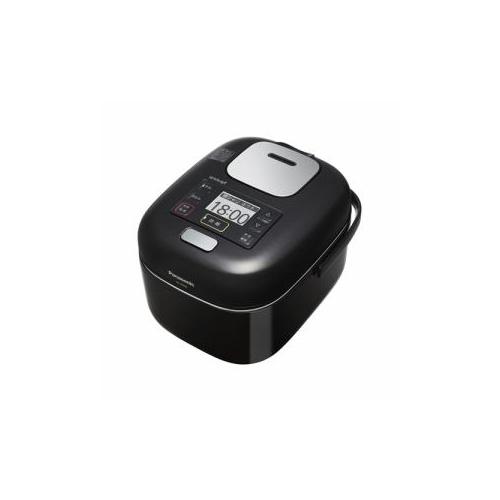 Panasonic 可変圧力IHジャー炊飯器 (3合炊き) シャインブラック SR-JW058-KK(代引不可)【送料無料】
