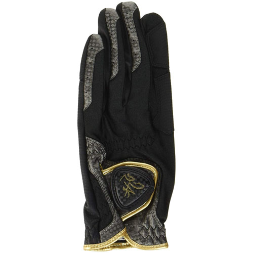 10個セット TOBIEMON R&A公認グローブ 左手着用 右利き用 黒 Sサイズ TBGV-BSX10(代引不可)【送料無料】