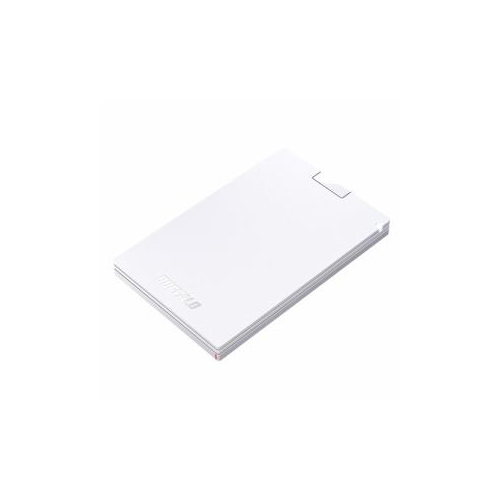 BUFFALO 耐振動・耐衝撃 USB3.1(Gen1)対応 ポータブルSSD 960GB ホワイト SSD-PG960U3-WA SSD BUFFALO SSD-PG960U3-WA(代引不可)【送料無料】