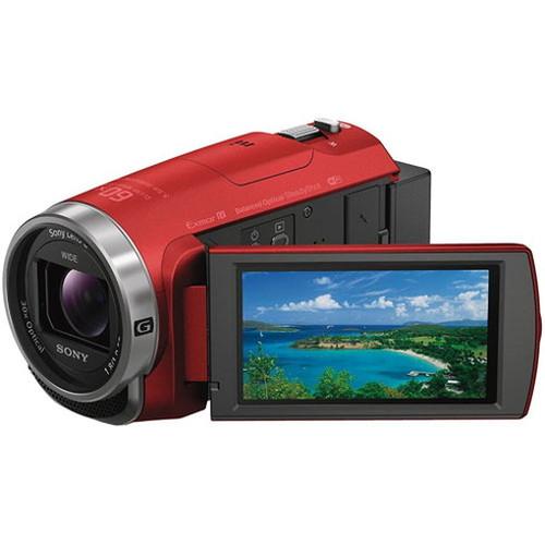 誕生日プレゼント ソニー デジタルHDビデオカメラレコーダー レッド HDR-CX680-R カメラ カメラ本体 ビデオカメラ SONY()【送料無料】, 神泉村 c7433bea