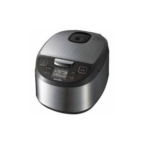 SHARP ジャー炊飯器(5.5合炊き) シルバー系 KS-S10J-S 家電 キッチン家電 炊飯器 SHARP(代引不可)【送料無料】