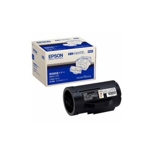 EPSON 純正環境推進トナー(Mサイズ)ブラック LPB4T19V パソコン パソコン周辺機器 トナー EPSON(代引不可)【送料無料】