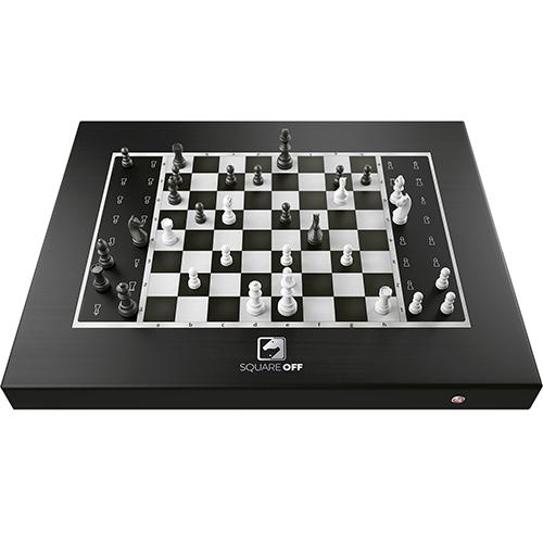 チェス駒が自動で動くスマートチェスボード Square Off - Black Edition SQF-GKS-B21(代引不可)【送料無料】【S1】