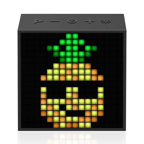 Divoom ディブーム スクエア型本格派Bluetoothスピーカー TIMEBOX-EVO BLACK TIMEBOX-EVO_BLACK(代引不可)