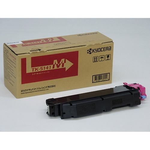 京セラ トナー(マゼンタ) TK-5141M コピー機 印刷 替え カートリッジ ストック トナー(代引不可)