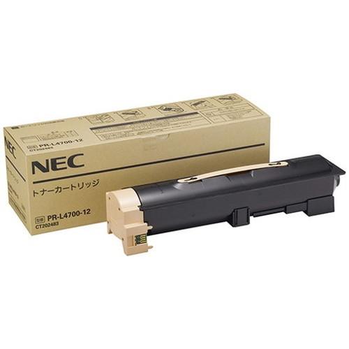 NEC エヌイーシー トナーカートリッジ PR-L4700-12 コピー機 印刷 替え カートリッジ ストック トナー(代引不可)【送料無料】