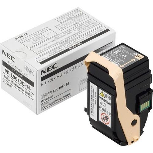 NEC エヌイーシー トナーカートリッジ (ブラック)PR-L9010C-14 コピー機 印刷 替え カートリッジ ストック トナー(代引不可)