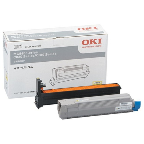 OKI 沖データ OKIデータ イメージドラム イエロー ID-C3KY コピー機 印刷 替え カートリッジ ストック トナー(代引不可)