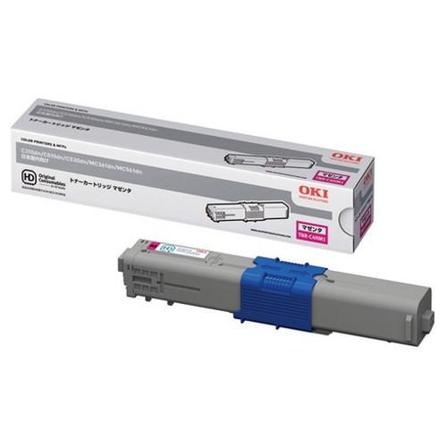 OKI 沖データ OKIデータ トナーカートリッジ マゼンタ TNR-C4HM1 コピー機 印刷 替え カートリッジ ストック トナー(代引不可)