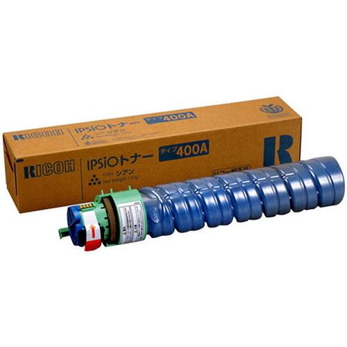 RICOH リコー IPSiO イプシオトナー シアン タイプ400A 636599 コピー機 印刷 替え カートリッジ ストック トナー(代引不可)