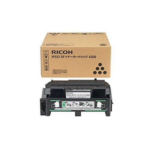 RICOH リコー IPSiO イプシオ SP トナーカートリッジ4200 308534 コピー機 印刷 替え カートリッジ ストック トナー(代引不可)