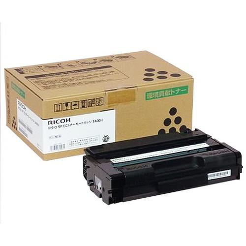 RICOH リコー IPSiO イプシオ SP ECトナーカートリッジ 3400H 308722 コピー機 印刷 替え カートリッジ ストック トナー(代引不可)