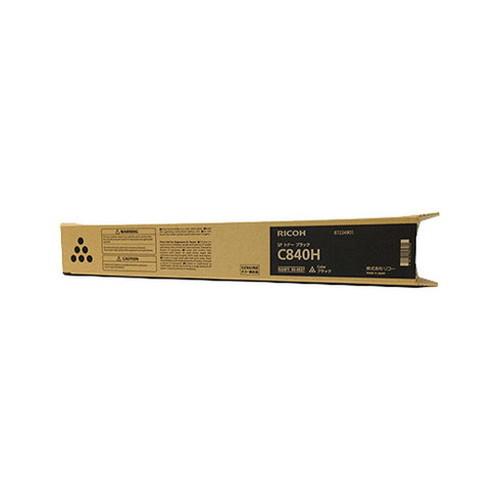 RICOH リコー IPSiO イプシオ SP トナー ブラック C840H 600637 コピー機 印刷 替え カートリッジ ストック トナー(代引不可)
