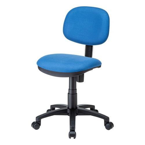 サンワサプライ エコロジーチェア SNC-E10BL 椅子 イス シンプル デスク(代引不可)