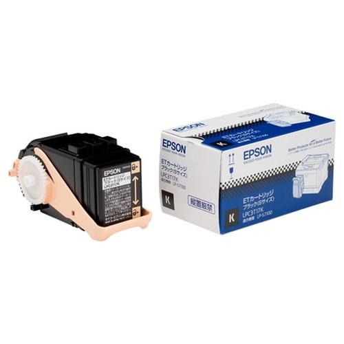 EPSON エプソン ETカートリッジ ブラック (Sサイズ) LPC3T17K コピー機 印刷 替え カートリッジ ストック トナー(代引不可)