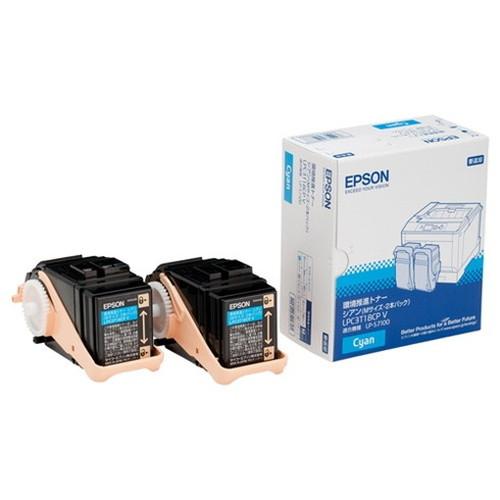 EPSON エプソン 環境推進トナー シアン LPC3T18CPV コピー機 印刷 替え カートリッジ ストック トナー(代引不可)【送料無料】