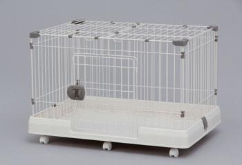 アイリスオーヤマ ルームケージ RKG-900L ケージ ミルキーブラウンRKG-900L(代引き不可)