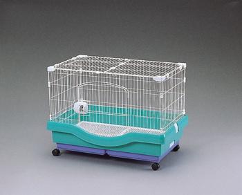 アイリスオーヤマ 小動物快適ケージ RU-800 小動物用品 パステルグリーンRU-800(代引き不可)【送料無料】