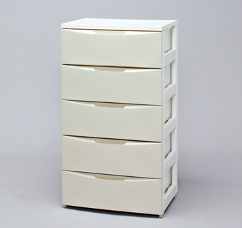 アイリスオーヤマ ワイドチェスト CODシリーズ ホワイト/アイボリー COD-555(代引き不可)【S1】