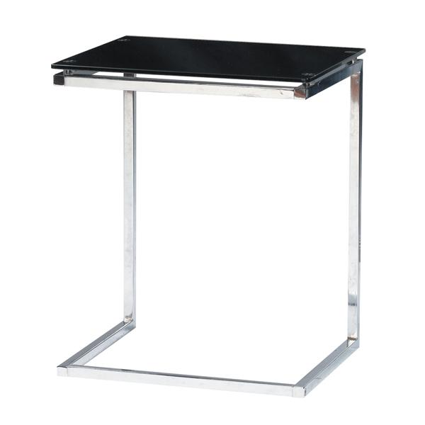 サイドテーブル [PT-15BK](代引不可)【送料無料】