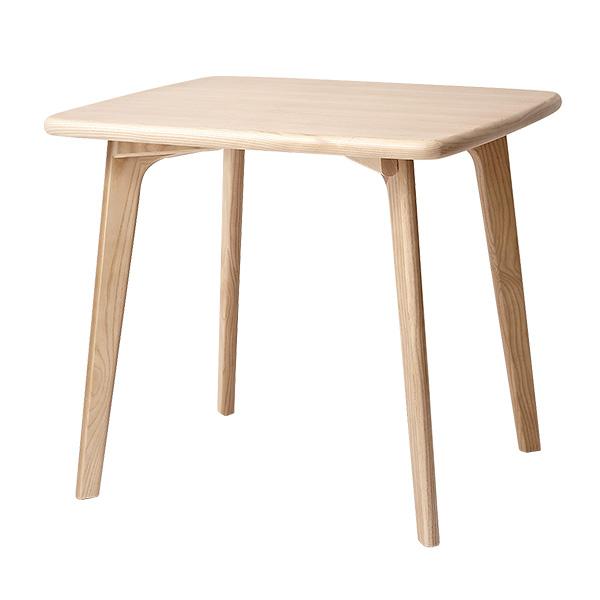 ダイニングテーブル W80 天然木北欧スタイルダイニング【CREGG】クレッグ テーブルW80 木製 (代引不可)【送料無料】【S1】