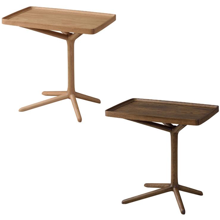 2WAYサイドテーブル トレーテーブル ナイトテーブル モダン 取り外し可 高さ2段階 ミニテーブル おしゃれ 木製 おしゃれ(代引不可)【送料無料】