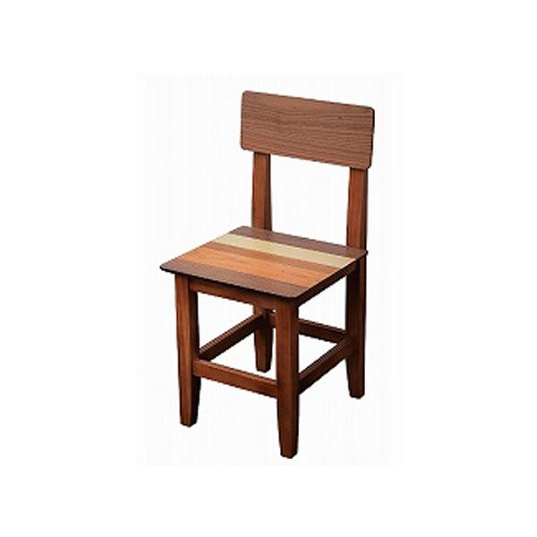 ダイニングチェア 椅子 イス チェアー 木製 天然木 シンプル 北欧 テイスト 家具 おしゃれ ダイニング ウォールナット(代引不可)【送料無料】