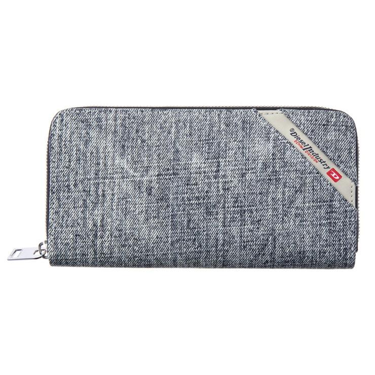 DIESEL ディーゼル X05271 PS778 H6027 ラウンドファスナー長財布 ブランド【送料無料】
