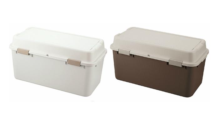 送料無料 卸売り 収納ボックス 野菜ストッカー ゴミ箱 ダストボックス キャンプ アウトドア 屋外収納 2個セット フタ付き プラスチック ストッカー2個セット ボックス 人気海外一番 屋外 代引不可 日本製 ルームパック880 コンテナ ガーデニング