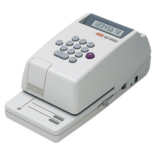 マックス 電子チェックライター EC-310C 1 台 EC90007 文房具 オフィス 用品