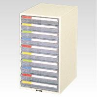 ナカバヤシ レターケース A4 浅10段 1 個 LC-10P 文房具 オフィス 用品