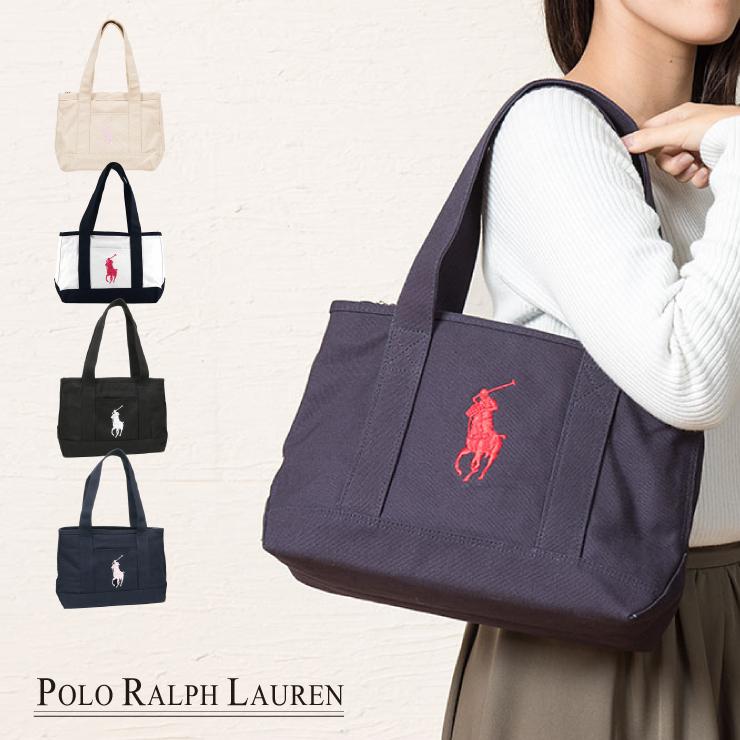 30271d01b1ca rikomendo lifestyle store  RALPH LAUREN Ralph Lauren Thoth M bag tote bag  shoulder bag schoolbag attending school bag back Ralph polo