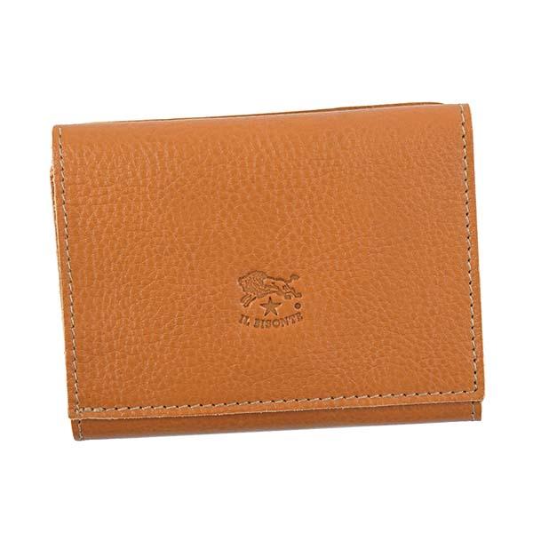 IL BISONTE イルビゾンテ C0593/M P 3ツオリコゼニ CAMAL 145 3つ折小銭付き財布【送料無料】