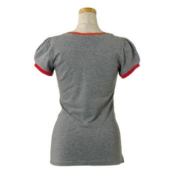 ラブモスキーノ LOVE MOSCHINO レディース Tシャツ 4D0951 GRAY GYOXTPkiZu